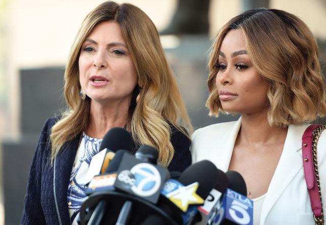The Kardashians at war - Attorney Lisa Bloom to rescue Blac Chyna