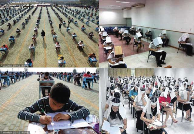 exam techniques for cheating