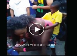 Hilarious - Young Boy Enjoying All The Booties At A Twerk Fest