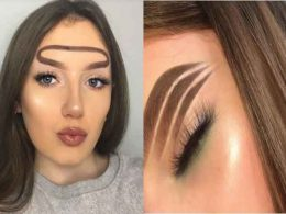 Think Wavy Brows Are Dumb? Wait Until You See This Next Weird Eyebrow Trend