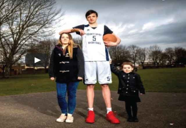 World's Tallest Teen Is Over 7 Feet Tall And Eats 8,000 Calories A Day