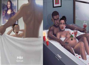 Ghanaian artist paints 22 Relationship Illustrations that Shows True Love