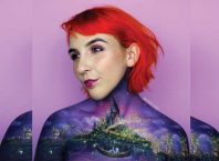 Australian Female Artist Uses Her Own Body as a Canvas for Fantastic Art