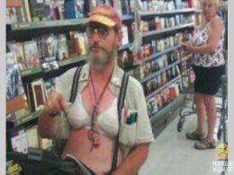 Pops Proudly Wears A Bra