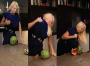 Meet The Woman who Squashes Can Drinks, Bricks and Watermelons with Her Assets