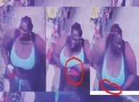 Bizarre As Camera caught Woman Stealing Drink worth over a thousand dollars