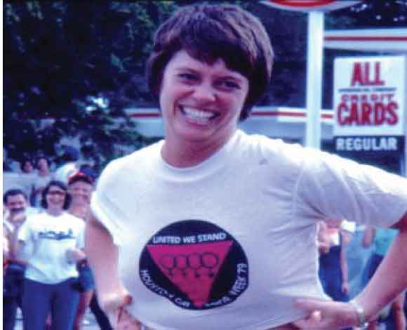 National Coming Out Day  Jean O'Leary