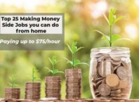 Top 25 Making Money Side Jobs you can do from home