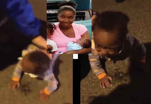 Baby-found-crawling-In-the-middle-of-New-York's-Busy-Road-Careless-Mom-Charged-viralgossiptalk