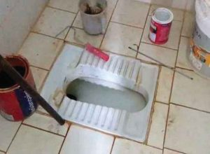 2 day old baby was found dead after her parents tried flushing her down the toilet