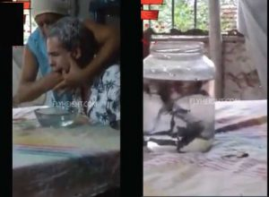 Meet the Woman Who Removes Evil Spirit From a Man's Throat