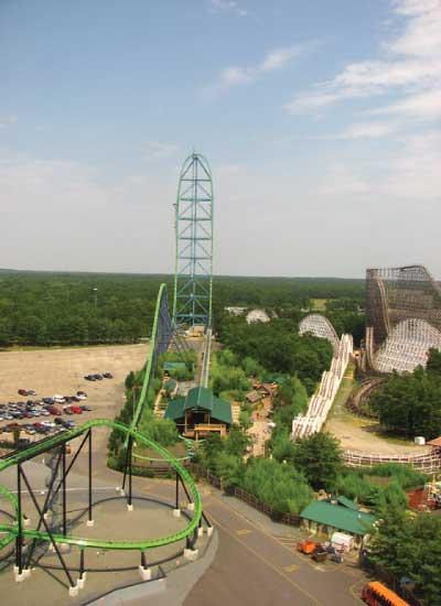 Tallest: Kingda Ka in Six Flags Great Adventure in Jackson