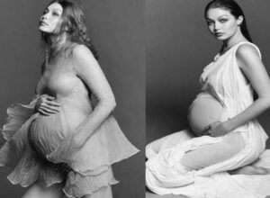 Gigi Hadid shares her first pregnant photos