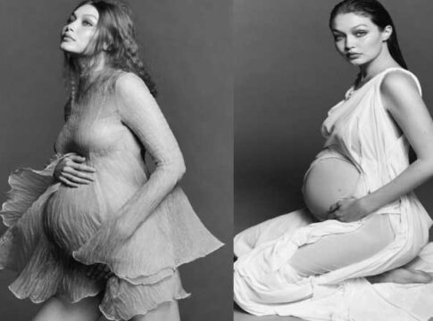 Gigi Hadid shares her first pregnant photos